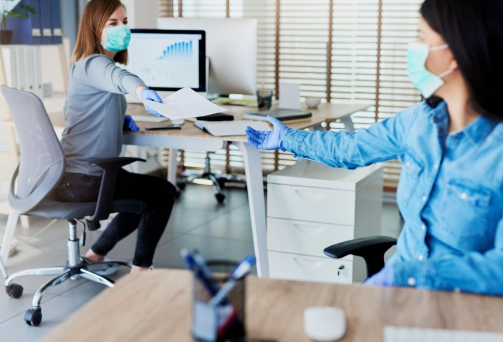 Create space between employees for working